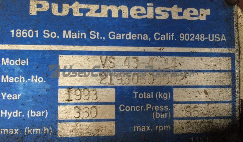 1993 43M PUTZMEISTER full