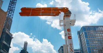 Everdigm Concrete Placing boom