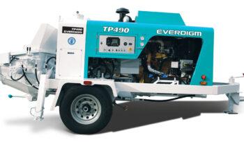 Everdigm TP490 Concrete Pump