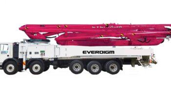 Everdigm 59 Meter Concrete Pump