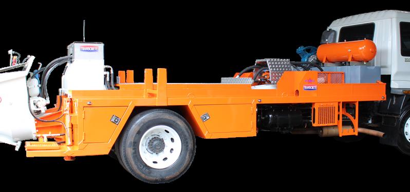Transcrete Patriot P-100HP Concrete Pump