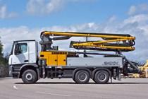 Liebherr 24 M4 XH Concrete Boom Pump